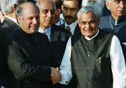 sharif says will pick up threads of ties from vajpayee s