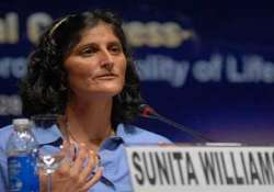 sunita williams to start her india trip from today