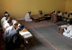 tension after 4 darul uloom students beaten up inside a