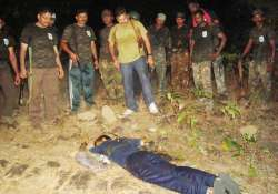 two crpf jawans killed during combing operation