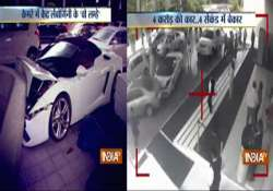 watch lamborghini worth crores wrecked by hotel valet in