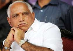 yeddyurappa musters sizeable support in show of strength