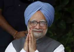 even out of office manmohan singh remains busy