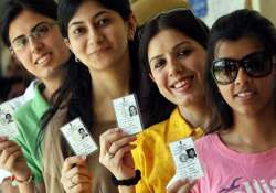 delhi polls a section of voters chose to vote a different