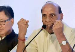 rajnath asks writers scientists to come meet pm modi