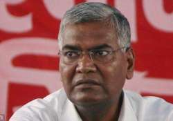 cpi accuses bjp of pursuing anti people policies