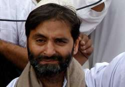 no space for political activity in kashmir says jklf chief