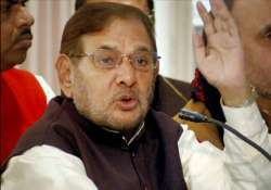jd u favours consensus on pranab mukherjee