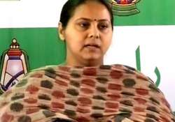 lalu s daughter hires two iitians to manage her campaign