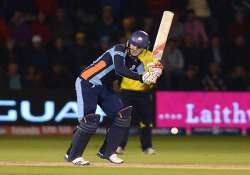 cl t20 qualifier yorkshire beat uva next by five wickets