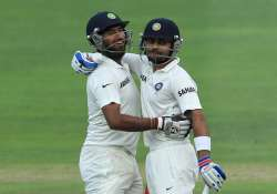 india south africa series day 3 india 284/2 at stumps lead
