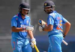 rohit sharma manish pandey hit tons in india a s win over