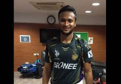 ipl 8 kkr will do well even in my absence says shakib al