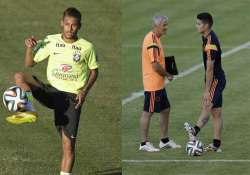 fifa world cup neymar and rodriguez to duel in world cup