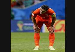 fifa world cup robin van persie s misses nearly cost dutch