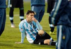 lionel messi s family heckled by chilean fans during copa