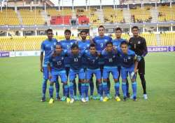 u 23 indian football team leaves for czech republic