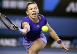 australian open 2015 halep through to quarterfinals