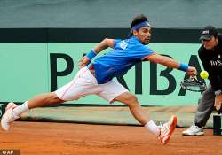 youzny fognini advance at st. petersburg open