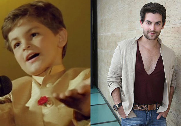 Neil Nitin Mukesh – Though the actor is still struggling to get that one big hit, Neil Nitin Mukesh had nailed it in his childhood with his winsome appearance in 1980s 'Jaisi Karni Vaisi Bharni' Neil played the role of a younger Govinda and he was a darling.