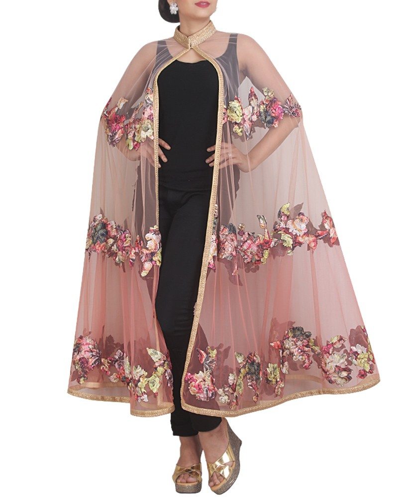 Capes This style is now making its way in Indian ethnic fashion. Easy to wear, Capes can be embraced by every body type. Opt for a simple kurti and a fancy cape to clad in an uber cool indo-ethnic look.