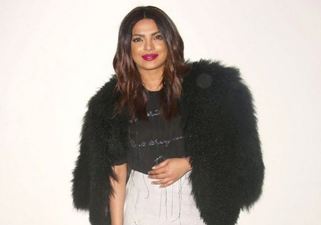 Priyanka Chopra chose a thigh-high slit skirt and an embellished top. A fur jacket and simple hair enhanced her look. The lady became popular in the west after she portrayed the character of Alex Parrish in 'Quantico'.