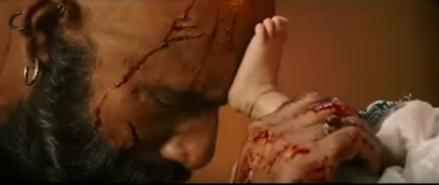 These deadlier scenes of 'Baahubali-2' prove that the film is going to serve a high voltage drama, which will be more dreadful than 'Baahubali The Beginning'.