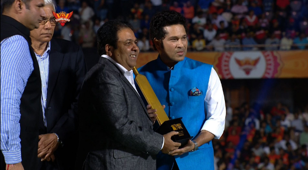The opening ceremony also saw cricketing greats Sachin Tendulkar, Sourav Ganguly, Virender Sehwag and V.V.S. Laxman sharing their experience of the IPL. Tendulkar said he never thought the IPL would become such a huge event.