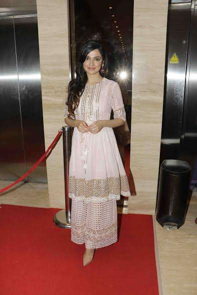 Divya Khosla looked spectacular in a pink attire.