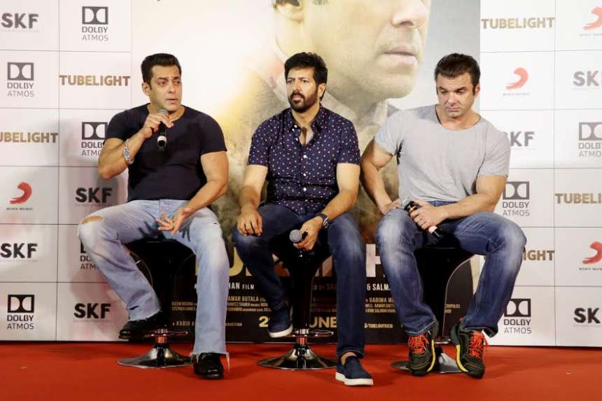 Filmmaker Kabir Khan mentioned that the idea for the film came from the 2015 film 'Little Boy'. Kabir said,