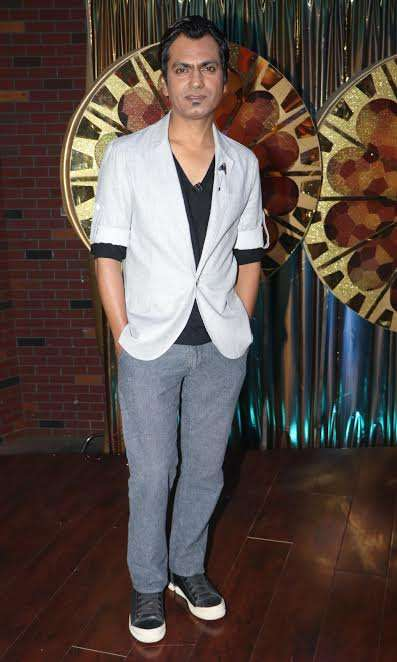 Nawazuddin Siddiqui was also seen in a casual and cool look.