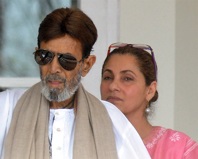Dimple Kapadia and Rajesh Khanna's marriage was not a successful one, but they never got divorced.