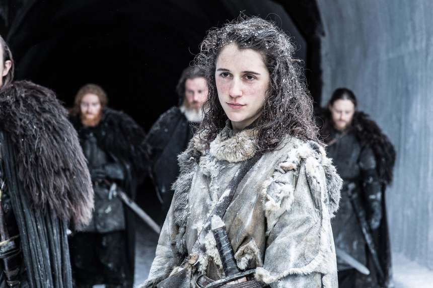 Meera Reed at The Wall (played by Ellie Kendrick)