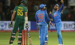 India clinched their maiden ODI series win on South African