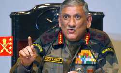 File pic - Army Chief Gen. Bipin Rawat