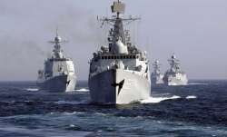 Amid political crisis in Maldives, Chinese warships sail