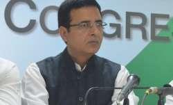 Congress communications incharge Randeep Surjewala