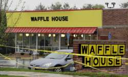 4 dead in Waffle House shooting in Tennessee; suspect sought