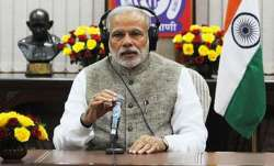 Prime Minister Narendra Modi on Sunday addressed the people