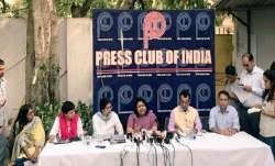 IAS Association during a press conference on Sunday.