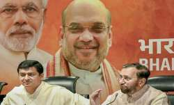 Union minister and senior BJP leader Prakash Javadekar with
