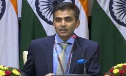 MEA spokesperson Raveesh Kumar.
