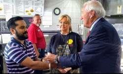 Ashland city's Mayor Steve Gilmore and three city