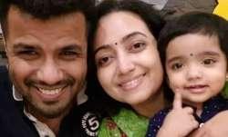 Balabhaskar with his family