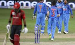 Live Cricket Score, India vs Hong Kong, Asia Cup 2018 Match