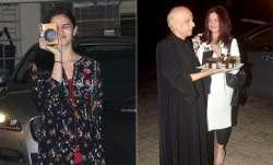 Bollywood actress Alia Bhatt and Pooja Bhatt celebrated dad