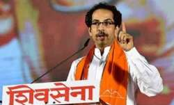 Shiv Sena chief Uddhav Bal Keshav Thackeray