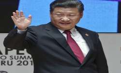 Chinese Premier Xi Jinping at APEC Summit