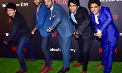 Anil Kapoor and the star cast of Netflix series Selection
