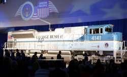 Presidential funeral train